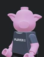 LEGO PIG MINIFIGURE