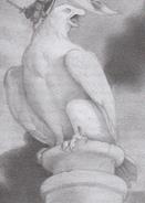 Falcowit statue ER