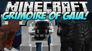 Minecraft GRIMOIRE OF GAIA! (Epic RPG Mod!) Mod Showcase 1.5