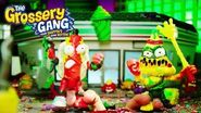 The Grossery Gang OFFICIAL Bug Strike Action Figures TV Commercial 15s
