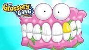 Grossery Gang Cartoon 🔥 MEET FALSE TEETH 🔥 Cartoons for Children Toys For Children