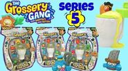 """Grossery Gang NEW Series 5 Time Wars """"Flush & Fizz"""" Unboxing & Toy Review"""