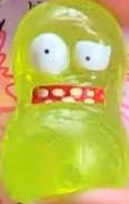 Smelly Bean Lime Figure