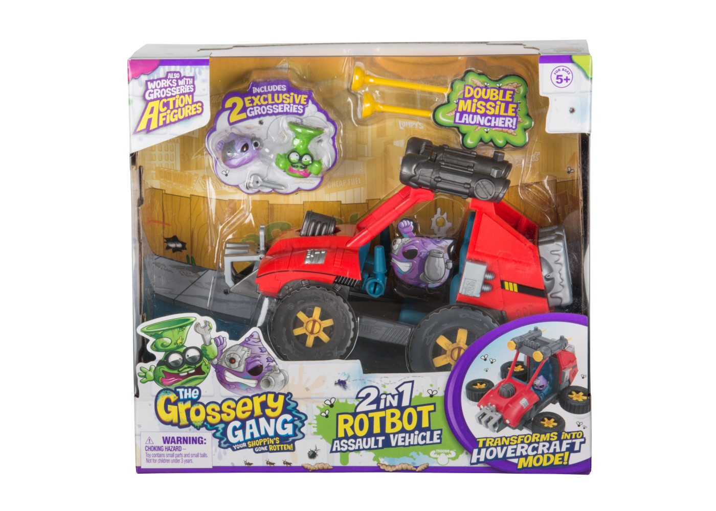 2 in 1 Rotbot Assault Vehicle