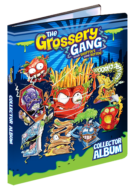 The Grossery Gang: Collector Cards