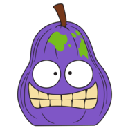 Hairy Pear Purple