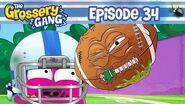 Grossery Gang Cartoon - Episode 34 - POOPER BOWL Grossery Gang Season 4 Cartoons For Kids