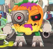 Rot bot pumpkin