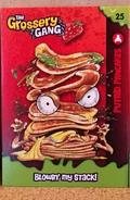 Putrid pancakes card