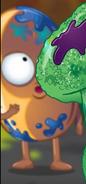 Orange male smelly bean