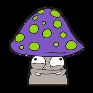 Mushy Mushroom Purple