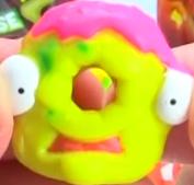 Dodgey Donut Yellow Figure