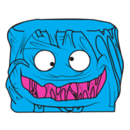 Gooey Chewie Blue