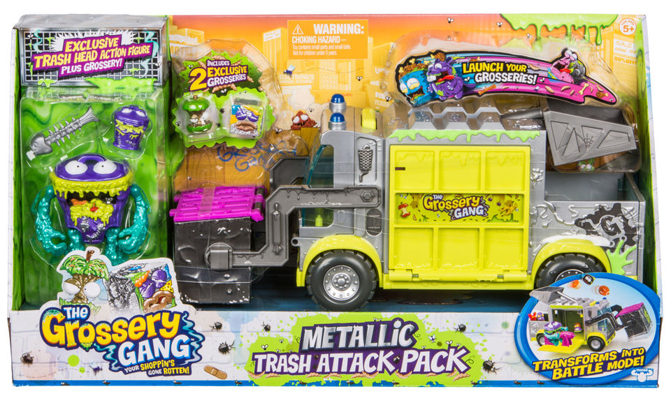 Metallic Trash Attack Pack