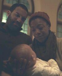 Nichole christening