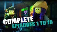 LEGO Hidden Side Episode 1-10 Full Episodes! Watch Before Carnival of Doom Episode 11