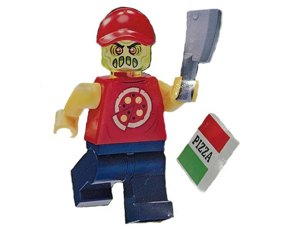 New LEGO Minifigures Pizza Delivery Boy