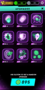 App upgrade page