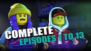 LEGO Hidden Side Episode 1-13 Full Episodes! Watch Before Doom Buggy Episode 13