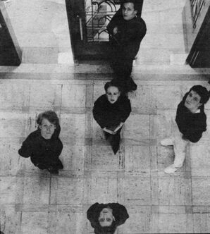 THL group 5 members looking up BW.jpg
