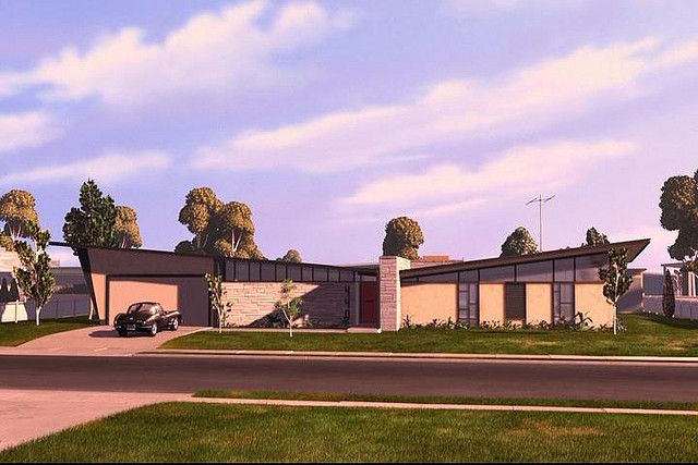 The Parr Family Residence The Incredibles Wiki Fandom