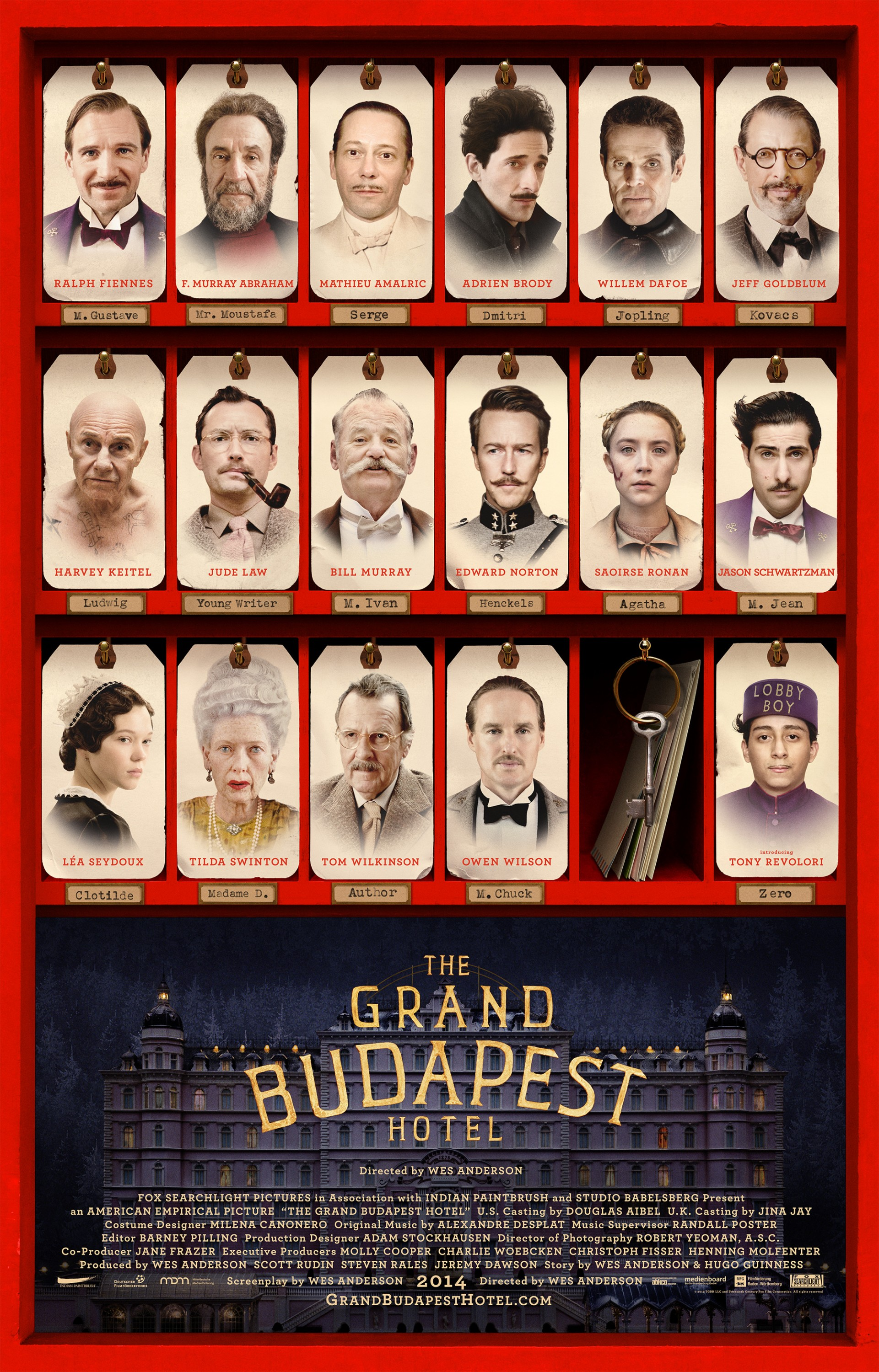 The Grand Budapest Hotel The Jh Movie Collection S Official Wiki Fandom