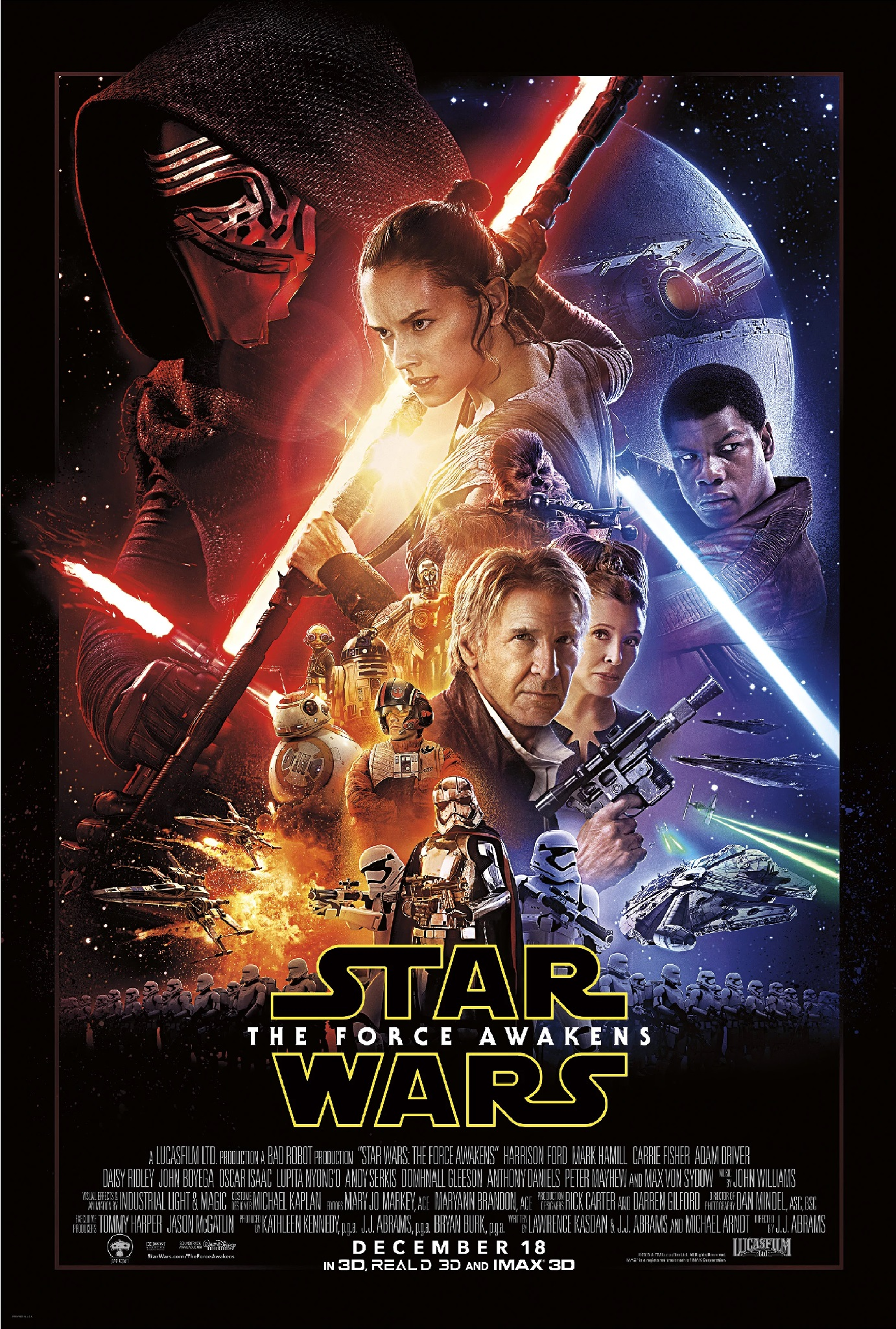 Star Wars: The Force Awakens   The JH Movie Collection's Official Wiki    Fandom