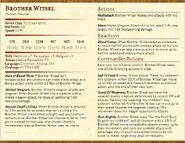 Brother Witsel Statblock