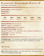 Fledgling Songdrake (Level 1) Statblock-v2-0