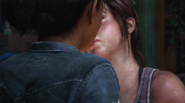 Riley and Ellie Kiss
