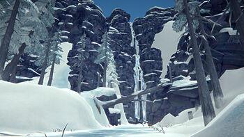 Нижние водопады ворона