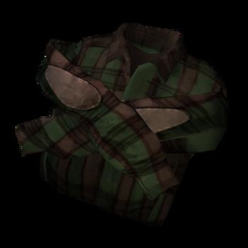 Шерстяная рубашка