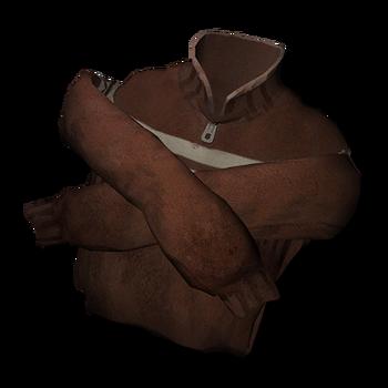 Тонкий шерстяной свитер