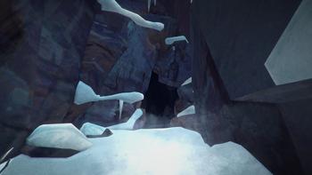 Пещера у озера