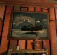 Картина Китобойное судно