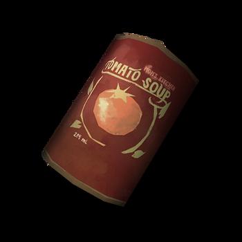 Банка томатного супа