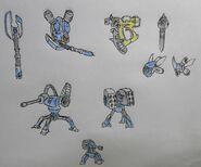 Shiro Mariya weaponry