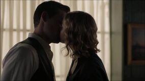 Joe and Nicole kiss FALLOUT