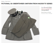 Hessen Antique's listing of Diels uniform