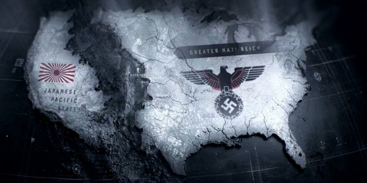 Man In The High Castle Us Map United States of America | The Man in the High Castle Wikia | Fandom