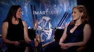 The Martian Astronaut Tracy Caldwell Dyson Interviews Jessica Chastain HD 20th Century FOX