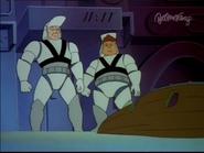 Lt Kellaway and Doyle Stumble upon the Mask