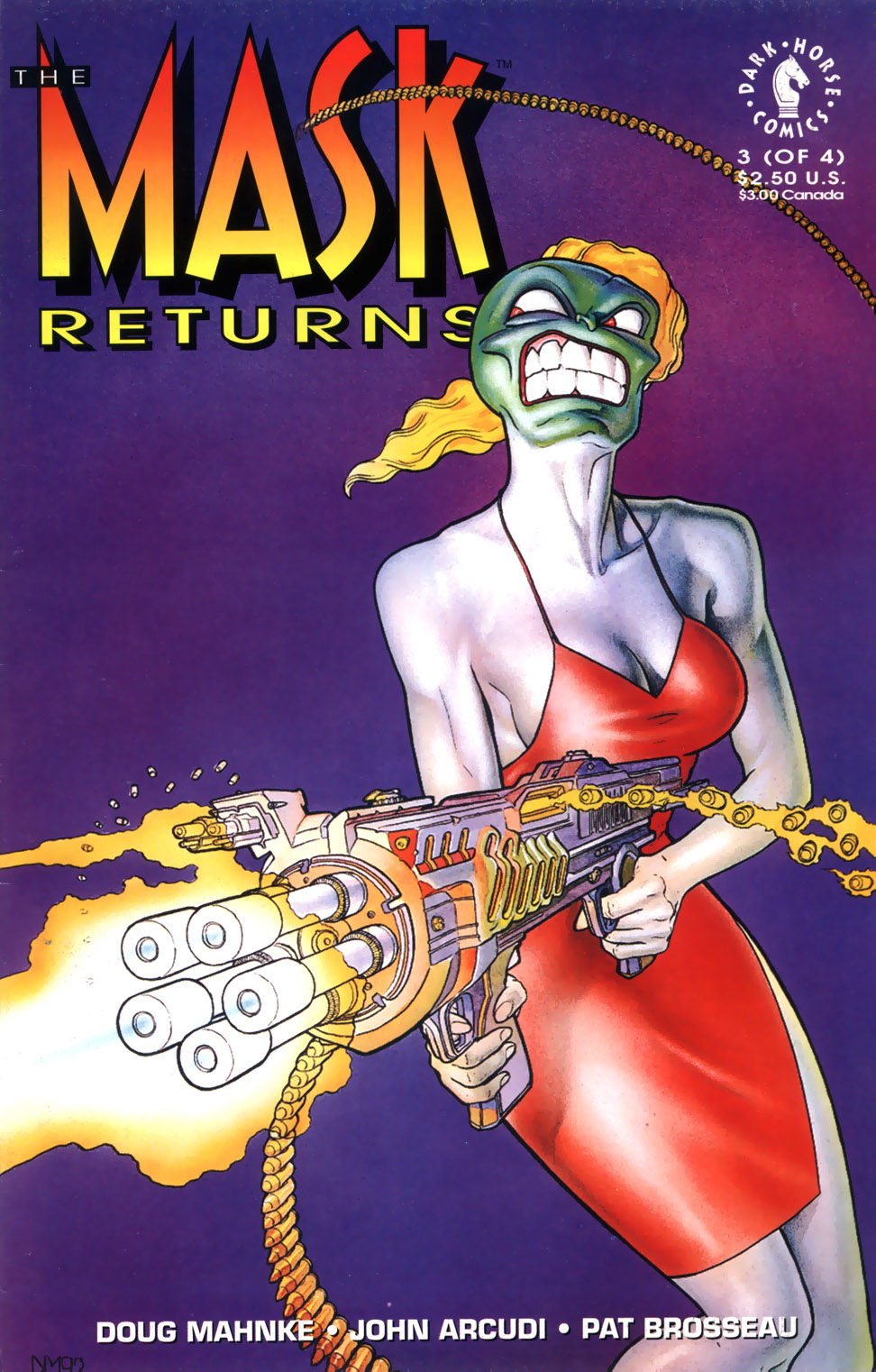The Mask Returns Issue 3