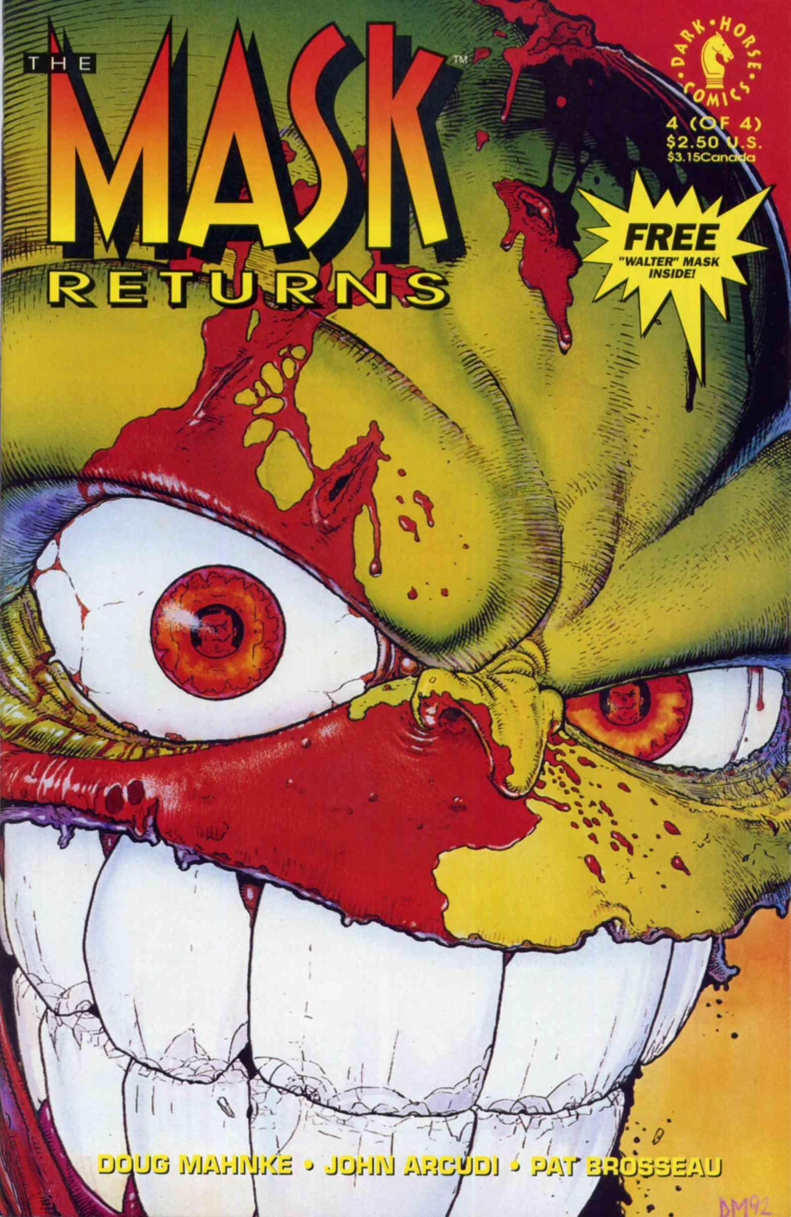 The Mask Returns Issue 4
