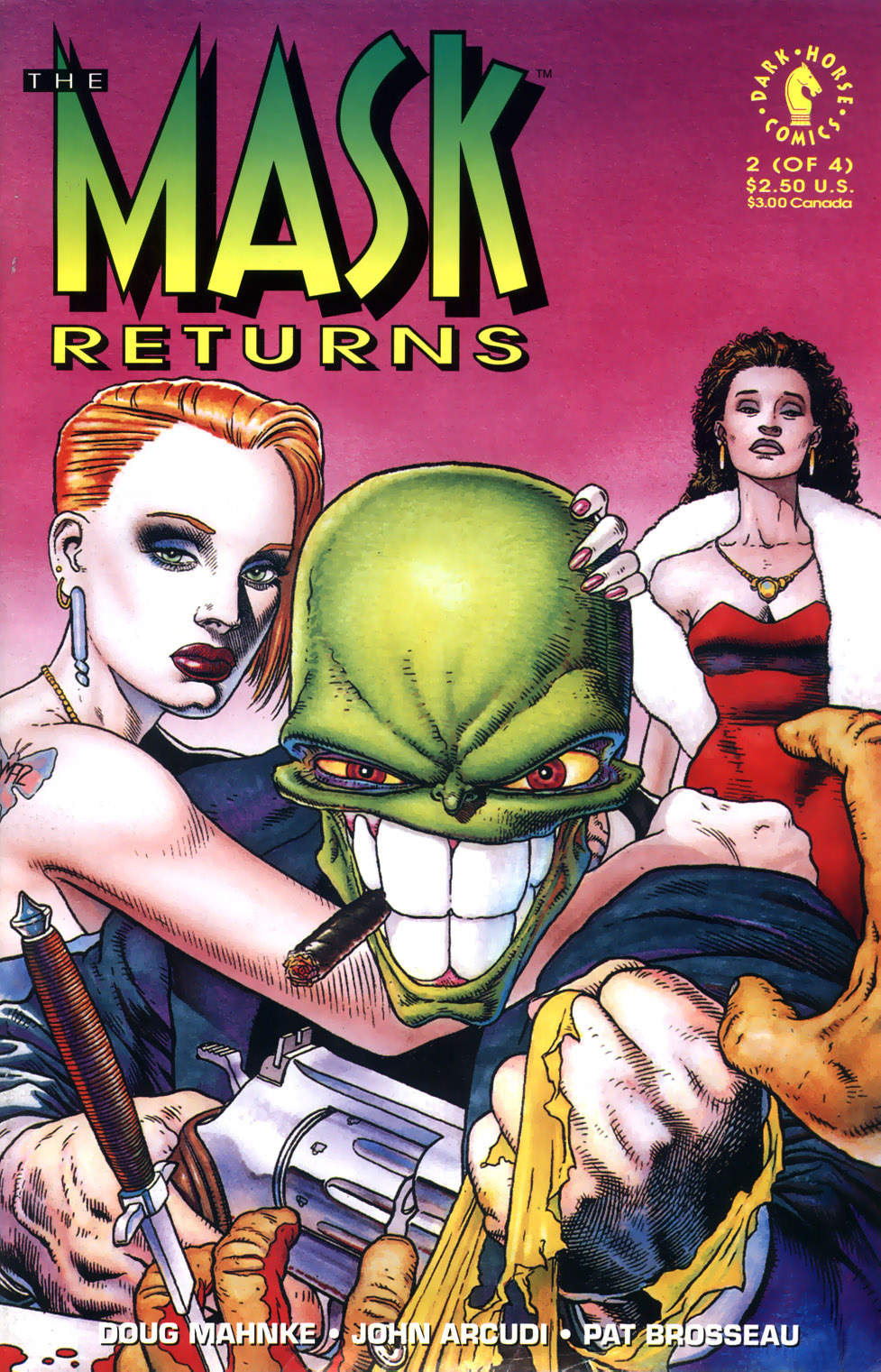 The Mask Returns Issue 2