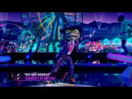 """Frog sings """"Hip Hop Hooray"""" by Naughty by Nature - THE MASKED SINGER - SEASON 3"""