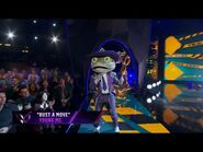 """Frog sings """"Bust a Move"""" by Young MC - THE MASKED SINGER - SEASON 3"""