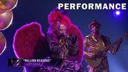"Night Angel sings ""Million Reasons"" by Lady Gaga THE MASKED SINGER SEASON 3"