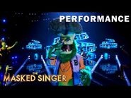 """Broccoli sings """"Hello"""" by Lionel Richie - THE MASKED SINGER - SEASON 4"""