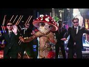Masked Singer Season 4 Mushroom 🍄 Performs The Christmas Song Sing-Along Lyrics